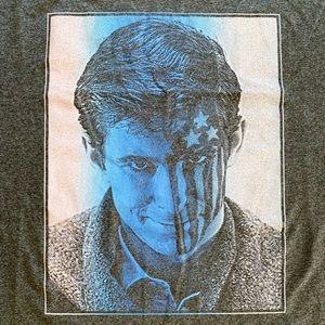 American Psycho Norman Bates Graphic T-Shirt